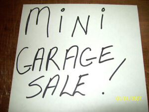 mini garage sale