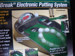 Golf, Golf game, Putting green, Electronic putting green London Ontario image 5