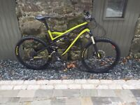 Full suspension specialized mountain bike