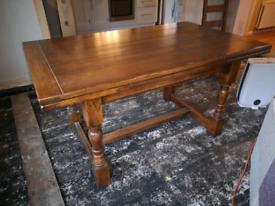 Quality Oak Dining Table