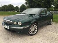 2004 Jaguar X-TYPE 2.0D Sport Manual Sallon Diesel in Green (Mileage 63K)