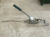 Ratcheting Rope Puller - 1/3 ton capacity (Come Along)