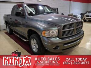 2005 Dodge Ram 1500 SLT  Hemi Quad Cab 4x4 Low Km