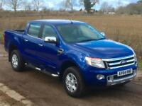 Ford Ranger 3.2TDCi (200PS)(EU5) 4x4 Double Cab Limited 2014/64 15850 miles FSH
