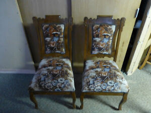 Causeuse, chaises berceuse,