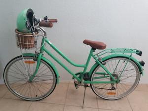 Girls Vintage Bicycle x 2