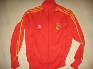 Authentic Spain Adidas Track Jacket. Like New.