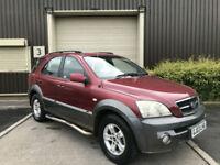 (03) 2003 Kia Sorento 2.5CRDi XE Automatic PX To Clear Spares or Repairs Export
