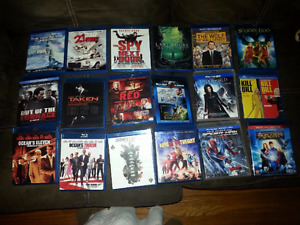BLUE RAYS COLLECTION LIKE NEW EXCELLENT CONDITION