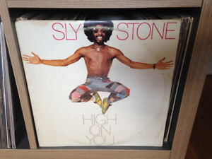 SLY STONE High On You VINYL LP