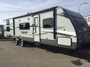 32' Travel Trailer with Slide and Bunkhouse