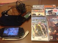 Sony PSP Console and games - £39