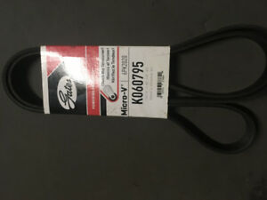 MICRO V BELT / CEINTURE  GATES K060795 CHRYSLER DODGE FORD
