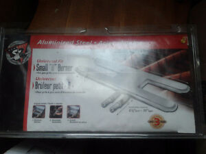 Universal small, adjustable H-Burner for gas grill St. John's Newfoundland image 1