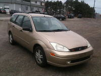 2001 Ford Focus certified and e test low klom Sedan