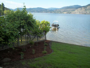 Furnished ground floor suite on Skaha Lake