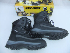 NEW Ski-doo Nomad Waterproof Quality Winter Boots, Men's Size 11