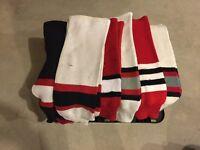 5 Pair Men's Med hockey Socks