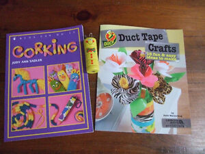 Kids Craft Books- Introduction to Corking and Duct Tape Crafts Oakville / Halton Region Toronto (GTA) image 2