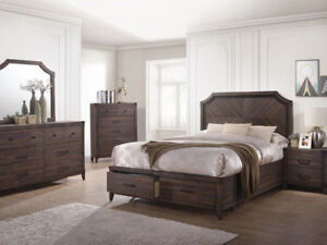 6pcs Queen Bedroom Set.