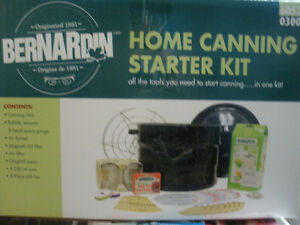 Bernardin Home Canning Starter Kit NIB