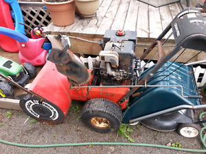 Old snowblower for parts or repair