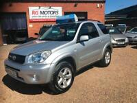 2006 Toyota RAV4 2.0 VVT-i XT-R Silver, 3dr **ANY PX WELCOME**
