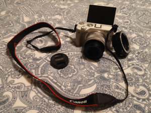 Canon EOS M3 Mirrorless Camera with EF-M 15-45mm IS STM Lens