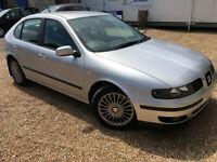 2001 'Y' SEAT Leon Cupra 20V Turbo. Sports Hot Hatch. Petrol. Manual. Px Swap