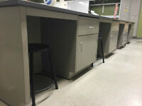 Steel Lab Benches