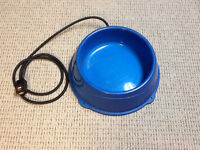 Electric water bowl