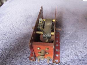 Meccano Set Vintage Electric Motor