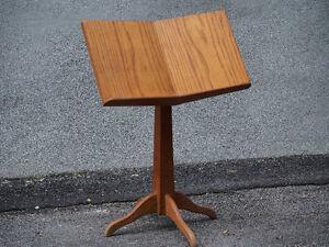 Oak Music Stand