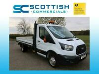 2017 FORD TRANSIT XLWB L5 FACTORY DROPSIDE SUPERB CONDITION *LOW MILE* ONE OWNER