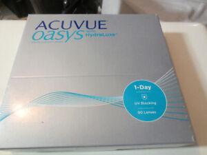acuvue oasys with hydraluxe verre de contacte