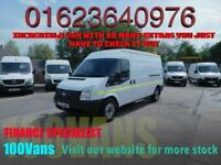 FORD TRANSIT 2.2TDCI T350 LWB M/ROOF 140PS AWESOME VAN WITH 350KG LIFT