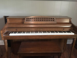 Whitney upright piano
