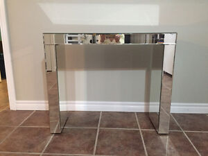 Mirrored Sofa or Side Table