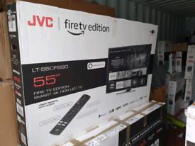 TV 55INCH JVC NEW MODEL 2020 FIRETV EDITIONAL ALEXA 4K ULTRA HD HDR