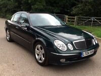Mercedes E240 petrol 1 owner+panoramic+leather