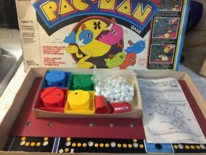 Vintage PAC Man board game from Milton Bradley 1980