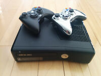 XBOX 360 plus 10 Games and 2 controllers!