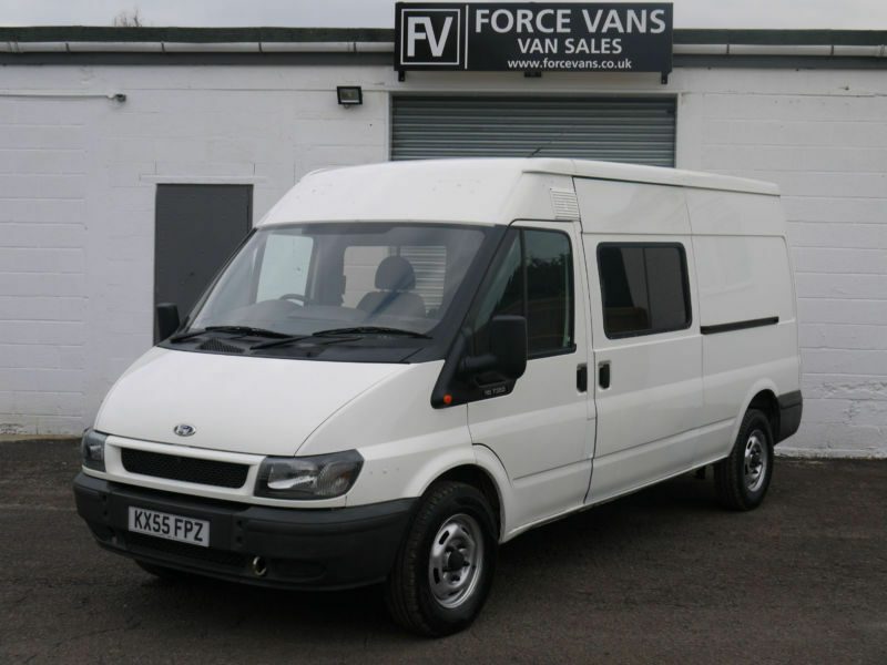 ford transit 350 minibus lwb mobile site tool crew day. Black Bedroom Furniture Sets. Home Design Ideas