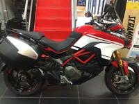 Ducati Multistrada 2016 PIKES PEAK 1300 MILES AND OVER £2000 WORTH OF EXTRAS !!