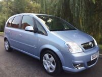 VAUXHALL MERIVA 1.6 DESIGN FULL 12 MONTHS MOT IMMACULATE CONDITION FIRST TO SEE WILL BUY