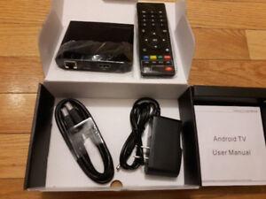 Android TV box 7.1 Amlogic S905X Quad core Dual wifi