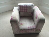 Childs Pink Armchair