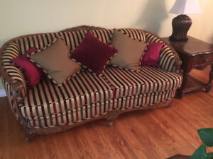Beautiful Antique Couch and Chair