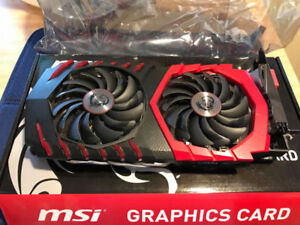 MSI RX 480 Gaming X 4GB - Warranty until April 2019