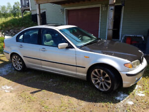2003 BMW 325xi E46 AWD For sale or trade WITH parts car
